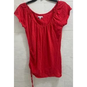 American eagle small red side ruched